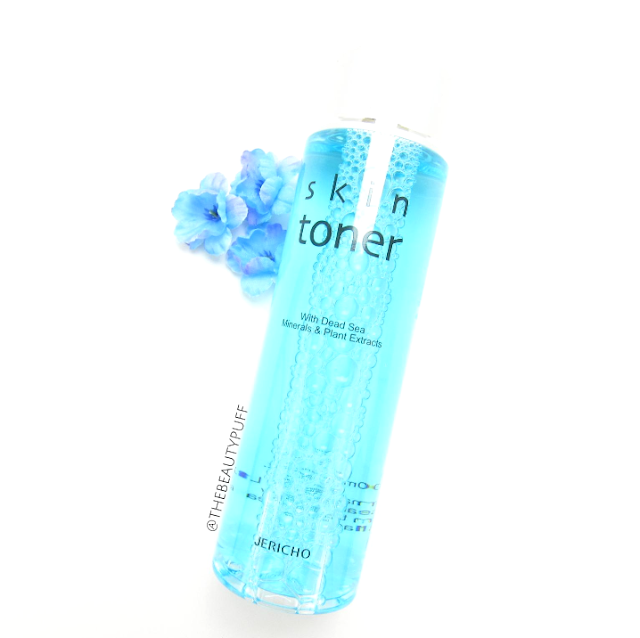 jericho skin toner - the beauty puff
