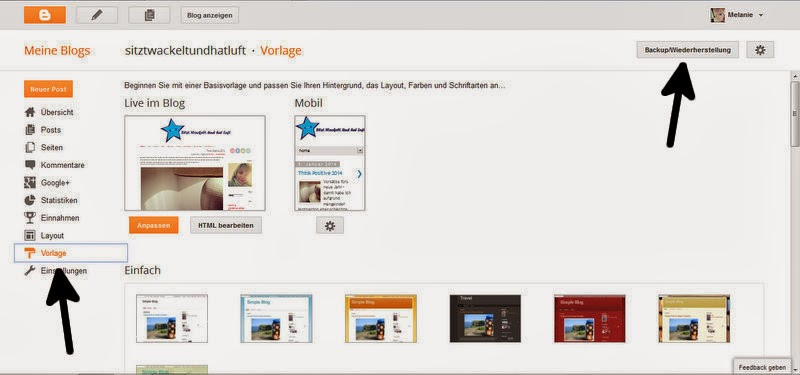 Tutorial BlogPutz Teil 1 – Backup des Blogger-Blogs ...