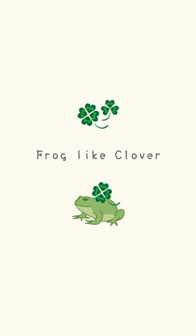 Frog like Clover