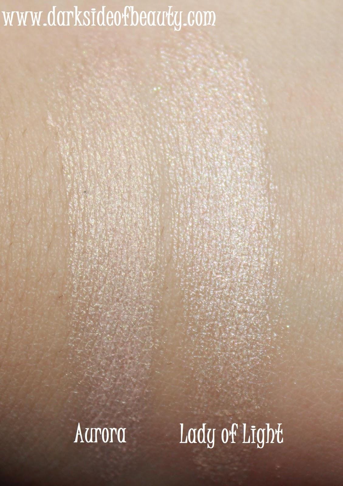 Gleam Reviews Photos: The Dark Side Of Beauty: Review: Illamasqua 'Aurora' Gleam