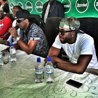 psquare zambia concert