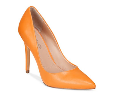 Charles by Charles David Orange Pumps