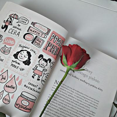 Wnętrze książki sekrety urody koreanek z recenzji na blogu chinguui blog