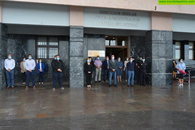 La Palma finaliza el luto oficial en recuerdo de las víctimas del coronavirus con un minuto de silencio