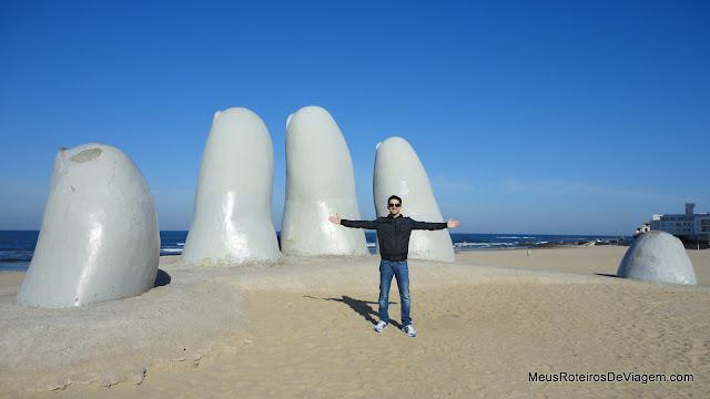Los Dedos - Punta del Este, Uruguai