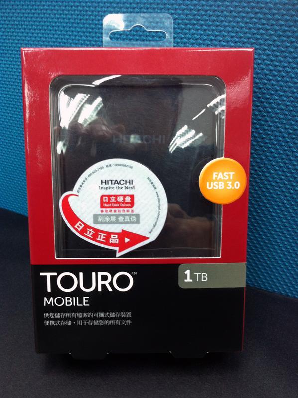 PaulSeidon Studio: 【敗家】HITACHI 2.5吋 1TB 行動硬碟(Touro 系列)