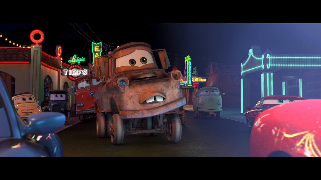 Cars (2006) BRRip 720p Latino – Ingles captura 4