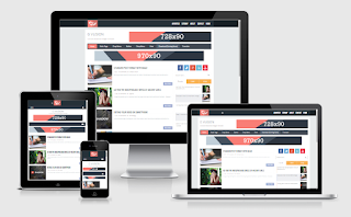 G Vusion 2 Responsive Blogger Template