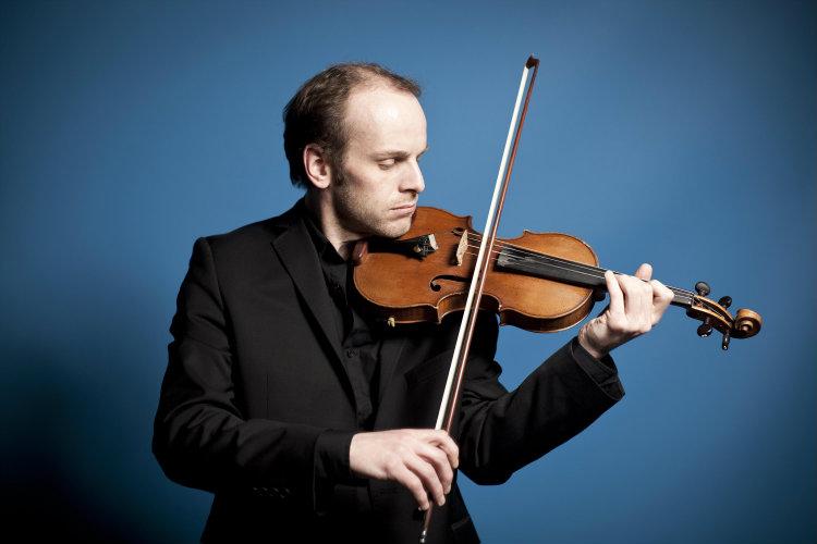 Violinist Benjamin Nabarro