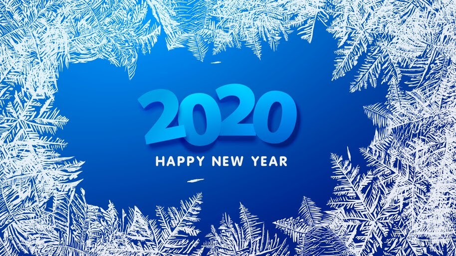 2020 Happy New Year 8k Wallpaper 42309