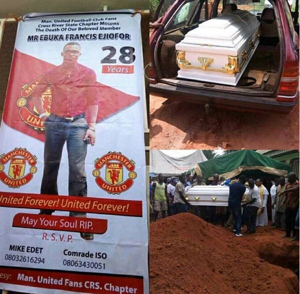 28 yr-old Ebuka Ejiofor, who died watching Man-U match In Calabar finally laid to rest