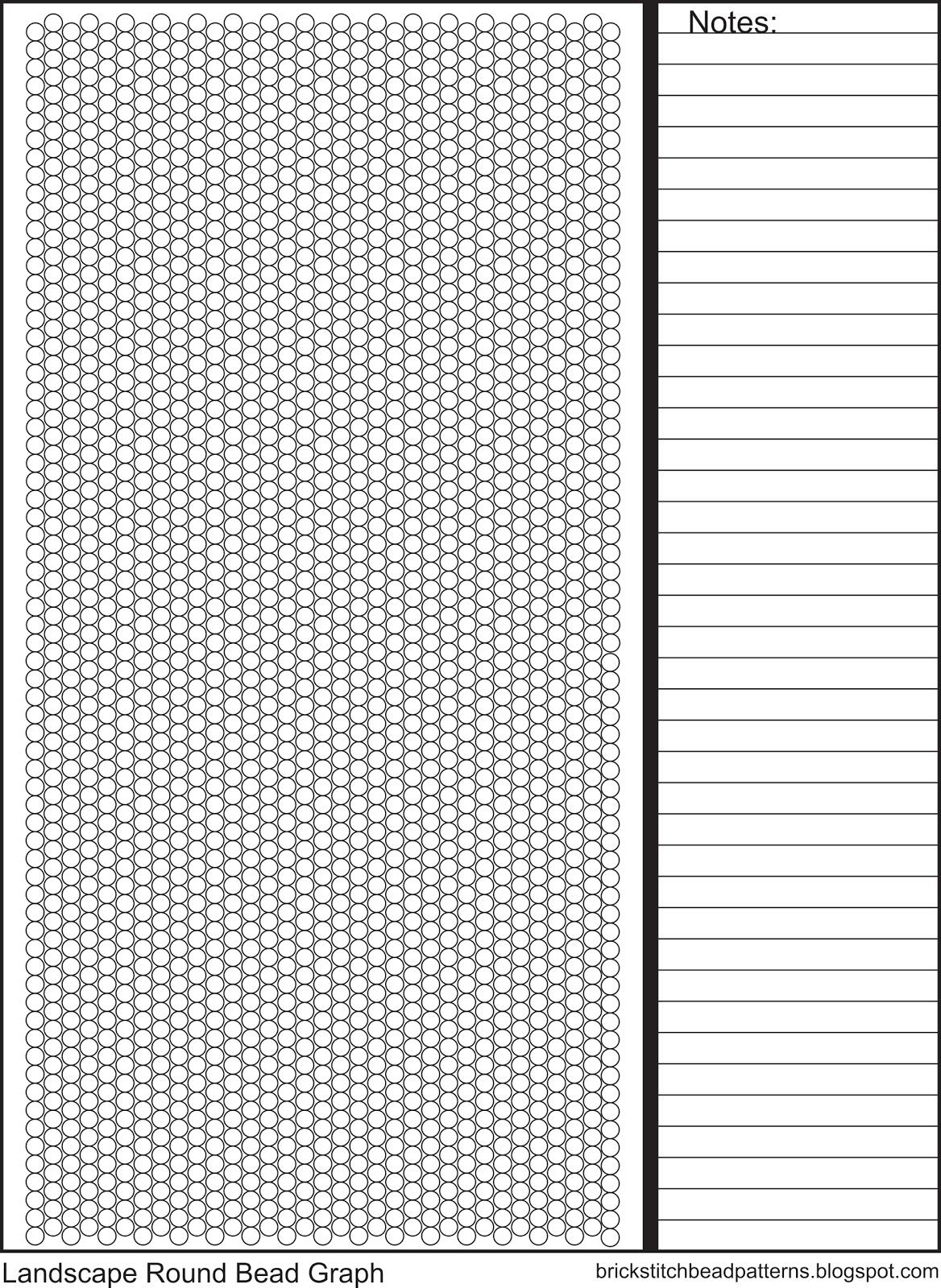 brick stitch bead patterns journal  universal landscape round seed bead brick stitch graph paper