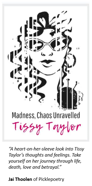 """Madness, Chaos Unravelled"". Premiere Poetry Collection NOW AVAILABLE.  Be part of the experience!"