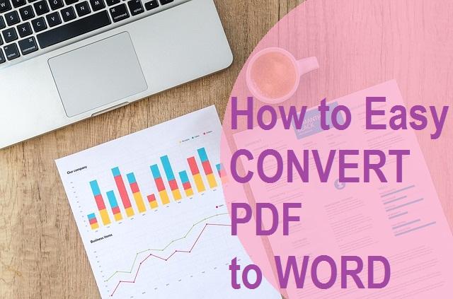 Convert File PDF ke Word dengan Mudah