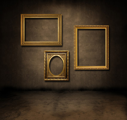 photo frame picture on the wall 2 Free stock photos