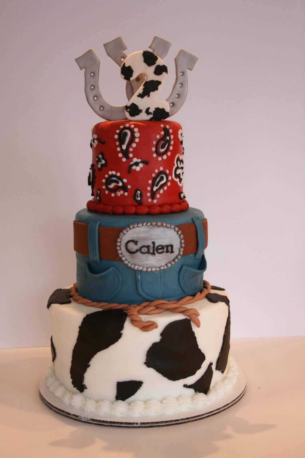 And Everything Sweet Calen S Western Cake