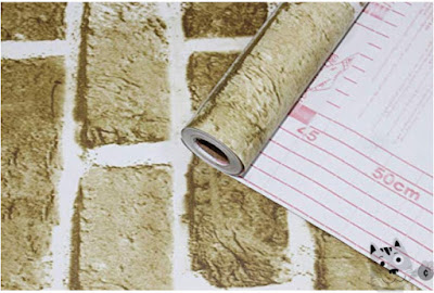 Grab A Roll Of The Faux Brick Contact Paper With Promo Code 80zjw827 And Get It For Only 6 98