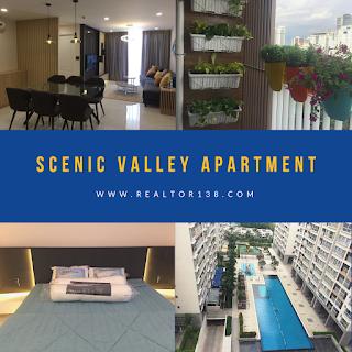 căn hộ Scenic Valley 02 phòng ngủ Phú Mỹ Hưng