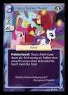 My Little Pony I Got a Golden Ticket! Canterlot Nights CCG Card