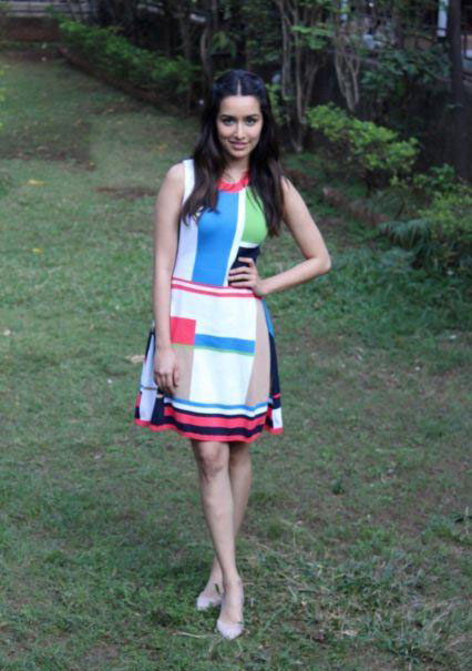 Shraddha Kapoor in Western Outfit For Ok Jaanu Promotions
