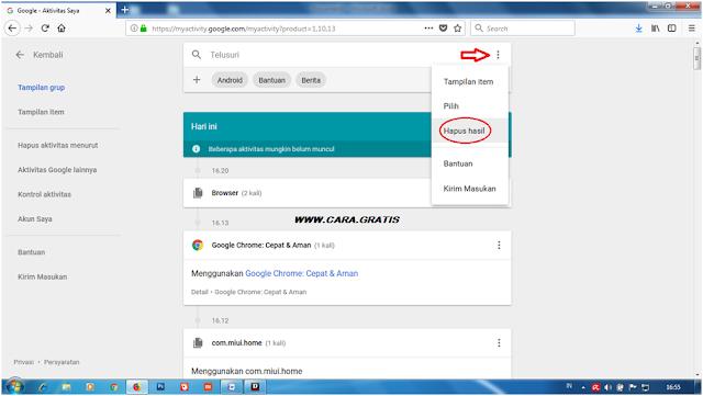Icon Riwayat Google