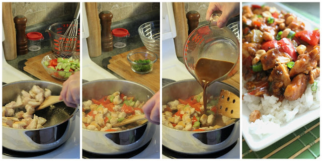 Steps to make Kung Pao Chicken at home