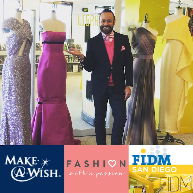 Nick Verreos Fashion With A Passion Fashion With A Passion 2018 Event At Fidm San Diego March 24th