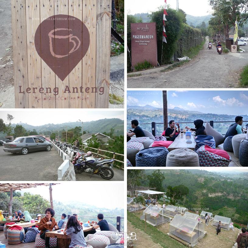 Review Lereng Anteng, Panoramic Ngopi Place Seru di Bandung