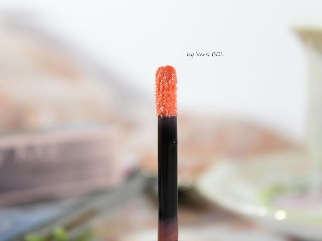 Blesk dlya gub NouriShine Plus ot Mary Kay v ottenke Sun Blossoms. Obzor, otzyiv, svotchi, review