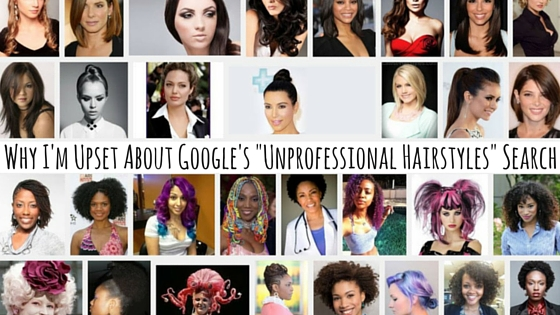 "FroBunni | Why I'm Upset About Google's ""Unprofessional Hairstyles"" Search (and it's not for the reason you think)"