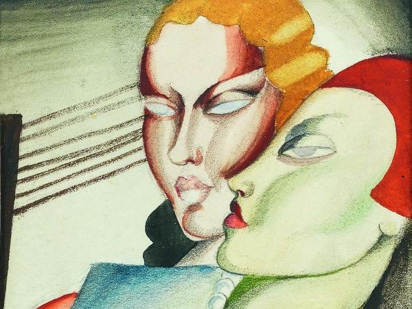 Tamara de Lempicka Deux amies