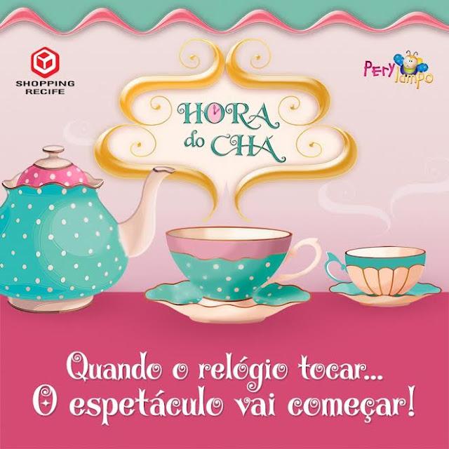 Shopping Recife e Perylampo realizam novo projeto infantil 'Hora do Chá'