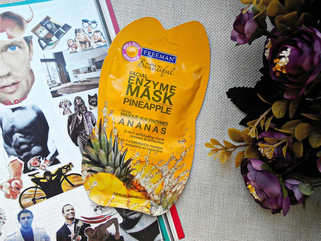 Freeman Feeling Beautiful Pineapple Facial Enzyme Mask Маска для лица с энзимами