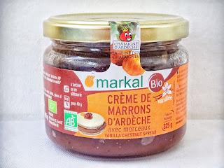 Fondant sans gluten sans lactose au chocolat noir et crème de marrons