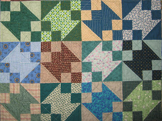 Buckeye Beauty quilt blocks