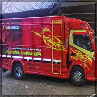 modifikasi truk canter 2016