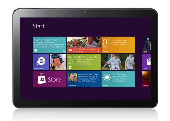 BUILD attendees receive Windows 8 tablets