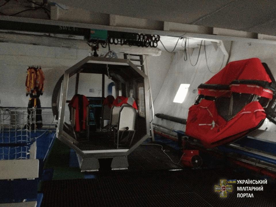 Україна має унікальний корабель – тренувальний центр для підготовки моряків