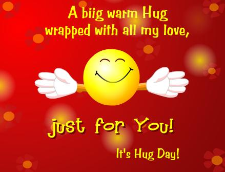 Hug Day Wishes Quotes Greetings for Husband Wife