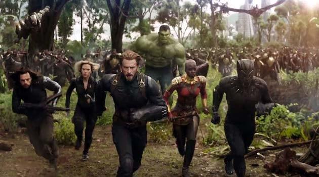 Daftar Film Superhero Marvel