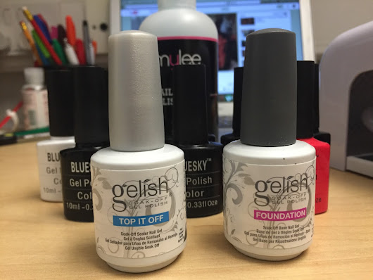 How I Do My Gel Polish Nails!  - aanth blogs