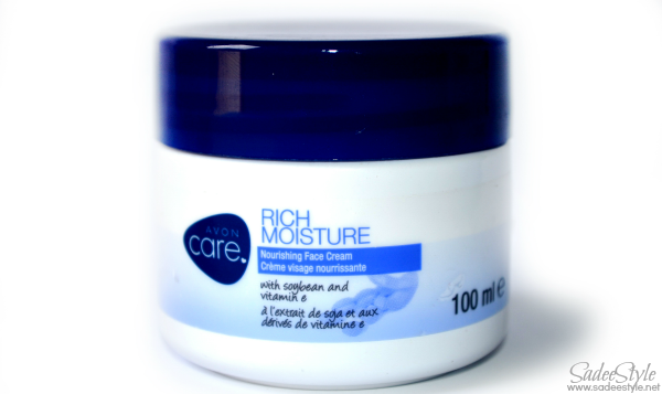 Rich Moisture Nourishing Face Cream