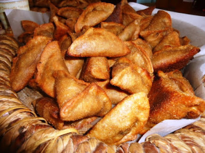salt and pepper and turn over until they are cooked Chickpea turnovers recipe