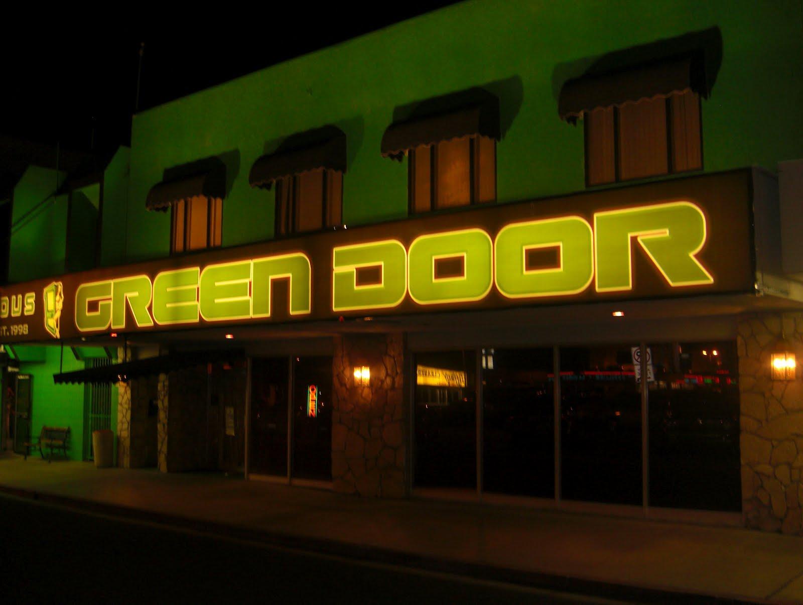 The green door swingers club