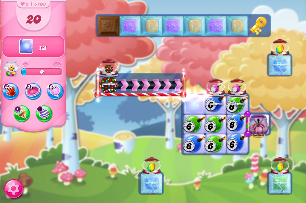 Candy Crush Saga level 5706