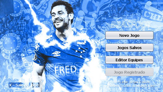 Skin Brasfoot 2019 - Fred - Cruzeiro