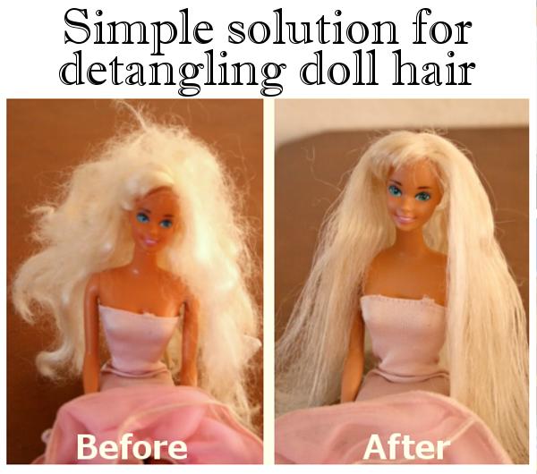 diy home sweet home barbie hair fix. Black Bedroom Furniture Sets. Home Design Ideas