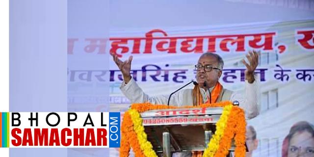 नंदकुमार ने शिवराज सिंह विरोधियों को गाली दी | MP NEWS