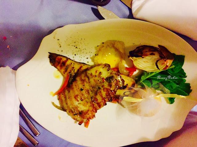 levrek ve dil balığı