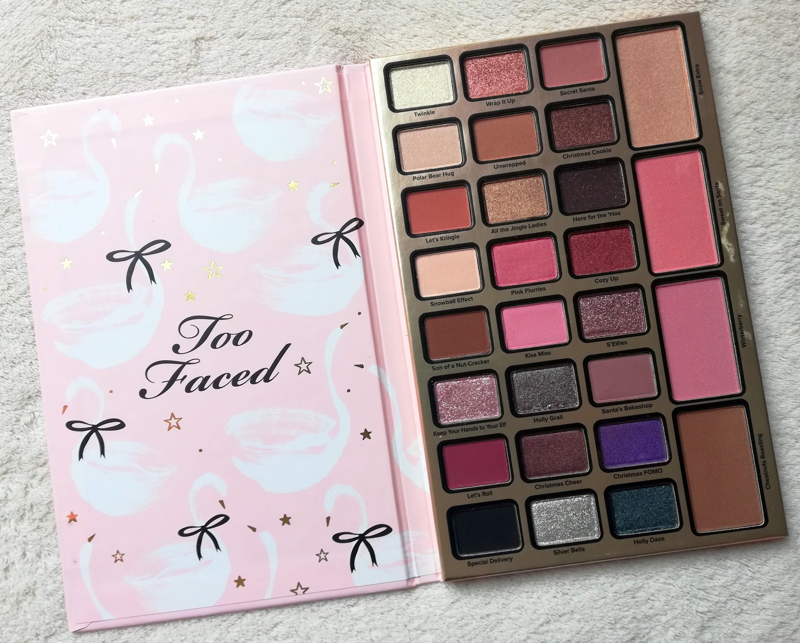 TOO FACED / Dream Queen (collection Noël 2018)